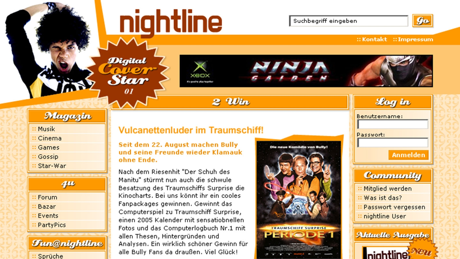 Nightline | nightline.cc | 2004 (Screen Only 02) © echonet communication